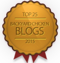 Top 25 Backyard Chicken Blogs 2015