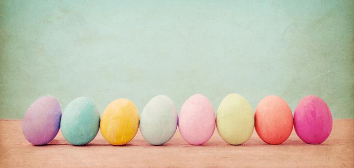 Multi Colored Eggs