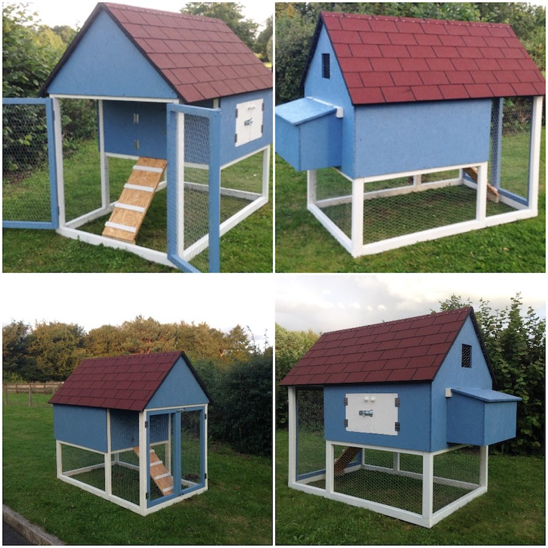 Finished Chicken Coop - How To Build A Chicken Coop (The Complete Step By Step Guide)