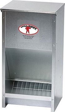 Semi Automatic Chicken Coop Feeder