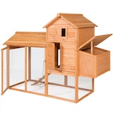 Outdoor Wooden Chicken Coop